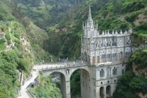 Катедралата Las Lajas в Колумбия